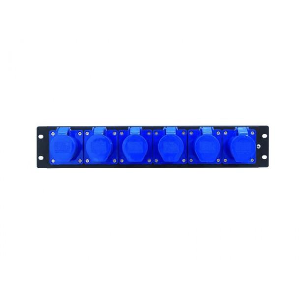 Eurolite PDM 3U-6CEE 16A/3 pins