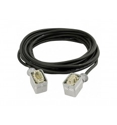 Showtec Power Multicable 6 Pole M-F