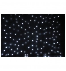 Showtec Stardrape White LED 2x3m