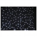 Showtec Stardrape White LED 4x6m