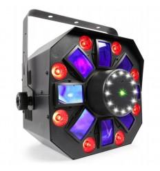 Beamz MultiAcis IV cu laser si stroboscop