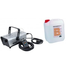 Eurolite N-10 Masina De Fum + Smoke Fluid-B- Basic, 5l Lichid De Fum