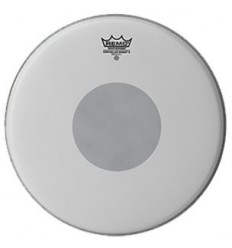 "Remo Controlled Sound X Black Dot 13"" Batter Coated"
