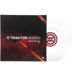 Native Instruments Traktor Scratch Vinyl MK2 White