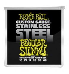 Ernie Ball 2246 STAINLESS STEEL REGULAR SLINKY 10-46