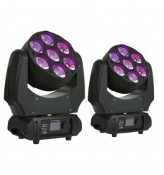 2 X SHOWTEC PHANTOM 70 LED BEAM
