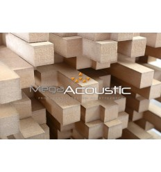 Mega Acoustic 2D Diffuser (Scattering Panel) SkyLine 28 x 28 x 20
