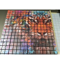 Mega Acoustic Draining and Dispersion Panel PM-8KL 60 x 60 Custom (Version With Print)
