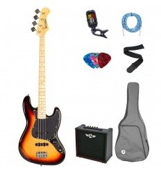 Prodipe Guitars Bass JB80 MA SB SET 11 ani/adult